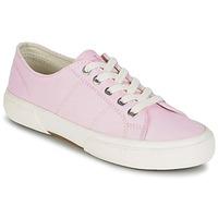 kengät Naiset Matalavartiset tennarit Ralph Lauren JOLIE SNEAKERS VULC Pink