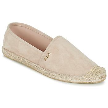 kengät Naiset Espadrillot Ralph Lauren DANITA ESPADRILLES CASUAL Pink