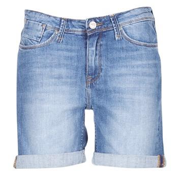 vaatteet Naiset Shortsit / Bermuda-shortsit Lee BOYFRIEND SHORT Blue