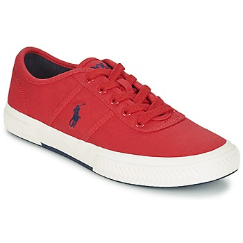 kengät Miehet Matalavartiset tennarit Ralph Lauren TYRIAN Red
