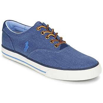 kengät Miehet Matalavartiset tennarit Ralph Lauren VAUGHN Blue