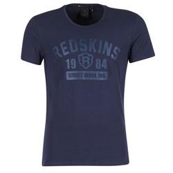 vaatteet Miehet Lyhythihainen t-paita Redskins BALLTRAP 2 Laivastonsininen