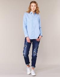 vaatteet Naiset Boyfriend-farkut G-Star Raw ARC 3D LOW BOYFRIEND Blue