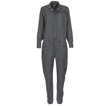 vaatteet Naiset Jumpsuits / Haalarit G-Star Raw MT ARMY RADAR Grey