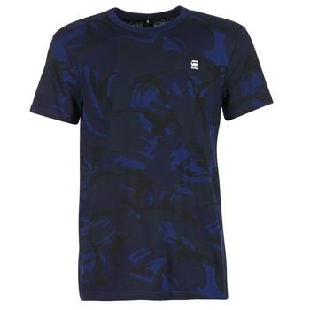 vaatteet Miehet Lyhythihainen t-paita G-Star Raw HOYN Laivastonsininen / Blue