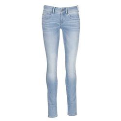 vaatteet Naiset Skinny-farkut G-Star Raw LYNN MID SKINNY Blue / CLAIR