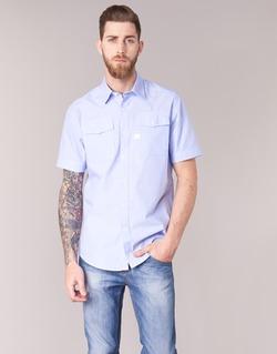 vaatteet Miehet Lyhythihainen paitapusero G-Star Raw LANDOH Blue