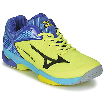 kengät Miehet Tenniskengät Mizuno WAVE EXCEED TOUR 2 CC Yellow / Black