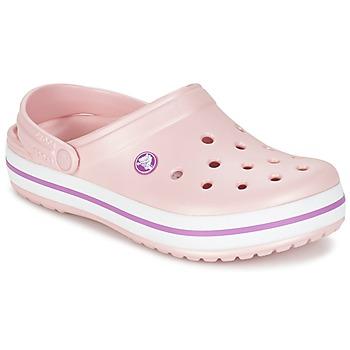 kengät Naiset Puukengät Crocs CROCBAND Pink