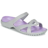 kengät Naiset Sandaalit ja avokkaat Crocs MELEEN TWIST Grey