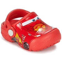 kengät Lapset Puukengät Crocs Crocs Funlab Light CARS 3 Movie Clog Red