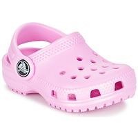 kengät Tytöt Puukengät Crocs Classic Clog Kids Pink