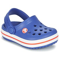 kengät Pojat Puukengät Crocs Crocband Clog Kids Blue