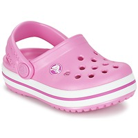 kengät Lapset Puukengät Crocs Crocband Clog Kids Pink
