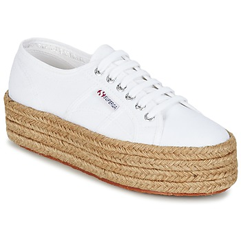 kengät Naiset Matalavartiset tennarit Superga 2790 COTROPE W White