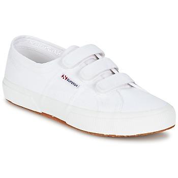 kengät Matalavartiset tennarit Superga 2750 COT3 VEL U White