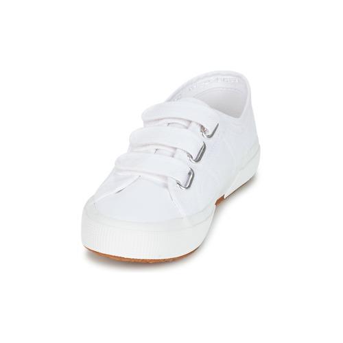Superga 2750 COT3 VEL U White 4565082 Miehet kengät