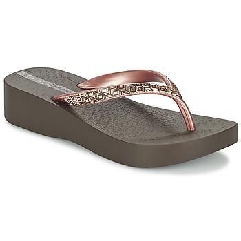 kengät Naiset Varvassandaalit Ipanema MESH PLAT II Brown / Pink