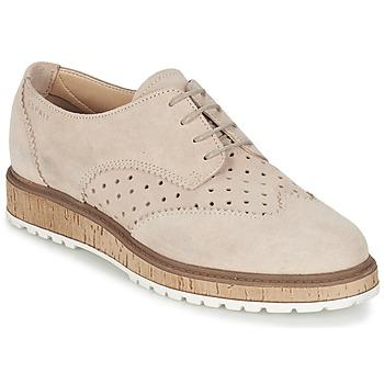kengät Naiset Derby-kengät Esprit CRISSY LACE UP Nude