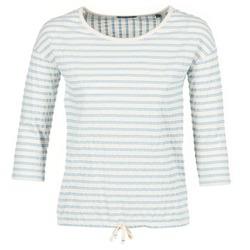 vaatteet Naiset Topit / Puserot Marc O'Polo GRASSIRCO White / Blue