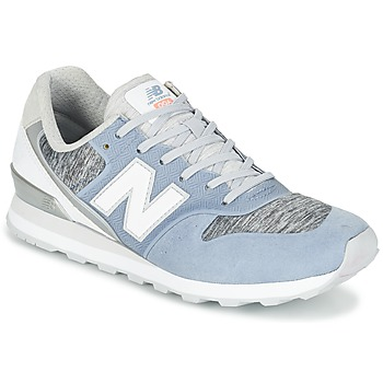 kengät Naiset Matalavartiset tennarit New Balance WR996 Blue / White / Grey
