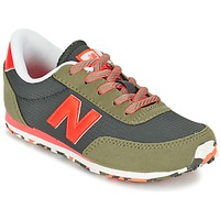 kengät Lapset Matalavartiset tennarit New Balance KL410 Green / Grey / Orange
