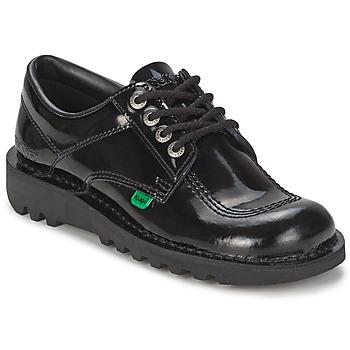 kengät Naiset Herrainkengät Kickers KICK LO Musta