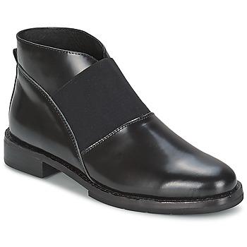 kengät Naiset Nilkkurit F-Troupe Chelsea Boot Musta