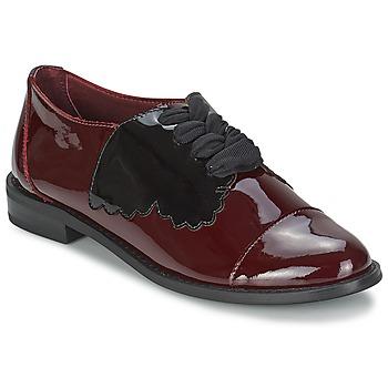 kengät Naiset Derby-kengät F-Troupe Butterfly Shoe Burgundy