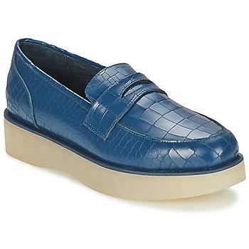 kengät Naiset Mokkasiinit F-Troupe Penny Loafer Sininen
