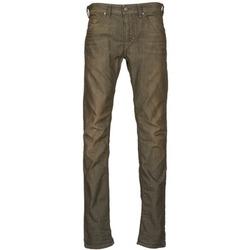 vaatteet Miehet Slim-farkut Diesel THAVAR Kaki