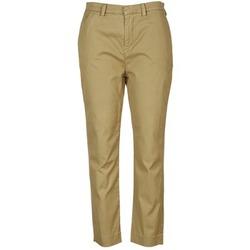 vaatteet Naiset Chino-housut / Porkkanahousut Diesel P-RURI-B COGNAC