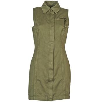 vaatteet Naiset Lyhyt mekko Diesel D-NAOMIE Kaki