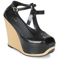 kengät Naiset Sandaalit ja avokkaat Melissa PEACE VI Black / BEIGE