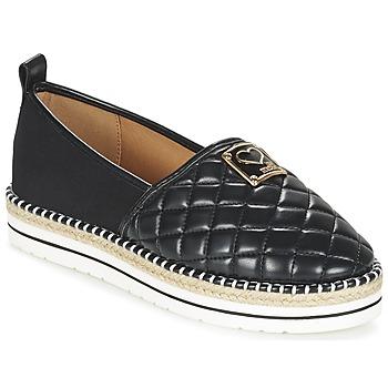 kengät Naiset Espadrillot Love Moschino JA10093G13 Black