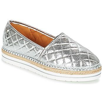kengät Naiset Espadrillot Love Moschino JA10313G03 Silver
