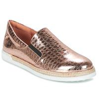 kengät Naiset Tennarit Love Moschino JA10353G03 Gold / Pink
