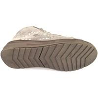kengät Tytöt Korkeavartiset tennarit Didiblu sneakers beige camoscio AH126 Beige