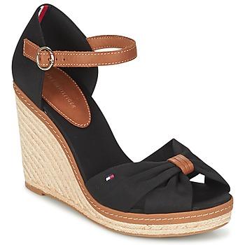 kengät Naiset Sandaalit ja avokkaat Tommy Hilfiger ELENA 56D Black / Brown