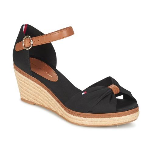 kengät Naiset Sandaalit ja avokkaat Tommy Hilfiger ELBA 40D Black / Brown