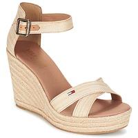 kengät Naiset Sandaalit ja avokkaat Tommy Hilfiger LUNA IDI Gold