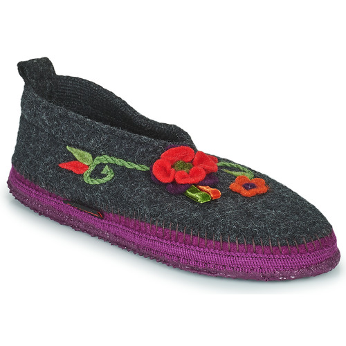 kengät Naiset Tossut Giesswein TANGERHÜETTE Anthracite