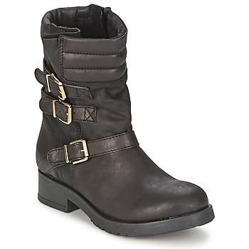 kengät Naiset Bootsit Jonak SHUNYATA Musta