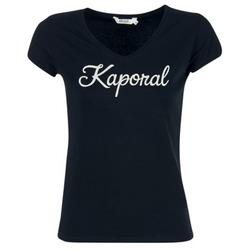 vaatteet Naiset Lyhythihainen t-paita Kaporal NIAM Black