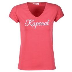 vaatteet Naiset Lyhythihainen t-paita Kaporal NIAM Pink