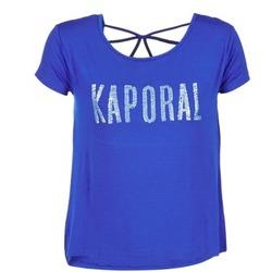vaatteet Naiset Lyhythihainen t-paita Kaporal NIZA Blue