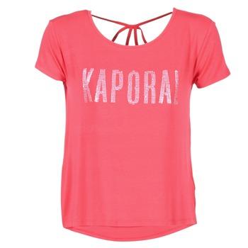 vaatteet Naiset Lyhythihainen t-paita Kaporal NIZA Pink