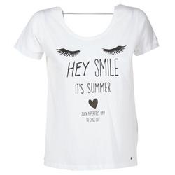 vaatteet Naiset Lyhythihainen t-paita Kaporal ASMA White