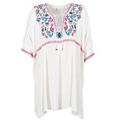 vaatteet Naiset Lyhyt mekko Billabong MYSTIC DRESS ECRU