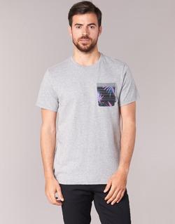 vaatteet Miehet Lyhythihainen t-paita Billabong TRANSMIT TEE Grey